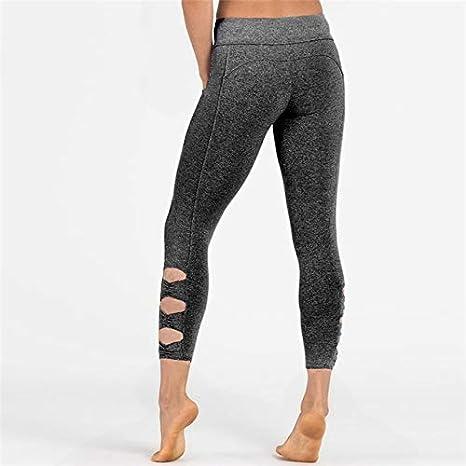 Women Yoga Athletic Pants Leggings Fitness Sports Gym Running Longs Workout