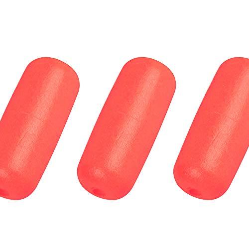 Dr.Fish 30PCs Fishing Rig Floats Snell Float Foam Float Spinner Crawler Harness Orange