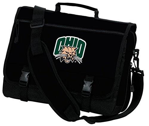 Broad Bay Ohio University Laptop Bag Ohio Bobcats Computer Bag or Messenger Bag by Broad Bay