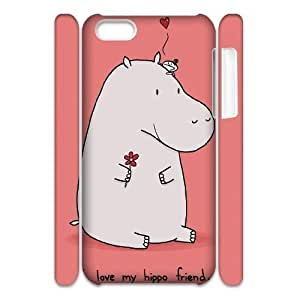 diy phone casediy 3D Case Cover for iphone 6 4.7 inch - Hippo case 3diy phone case
