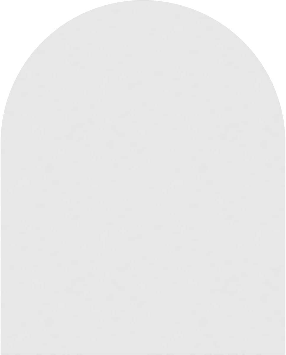 32 W Inch x 22 H Inch Ekena Millwork GVPRT32X2201SN Round Top Surface Mount PVC Gable Vent Factory Primed White