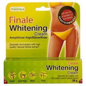 Finale Whitening Cream for Bikini Zone/armpit/inner Thigh/elbow/knee 30 G. ( Get Free Handmade Envelopes 5 Pieces ()