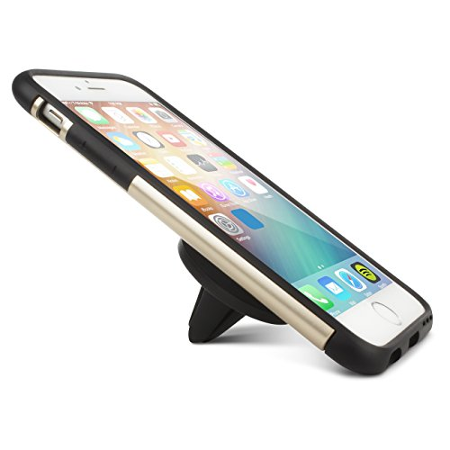 Mobility Magnetic Car Mount - Best Universal Cell Phone and Mini Tablet Car Mount - Compatible with Apple iPhone 6, 6 Plus, 5, Samsung Galaxy S7, S6, LG G4, Nexus 6P Smartphones - Air Vent Clip-On