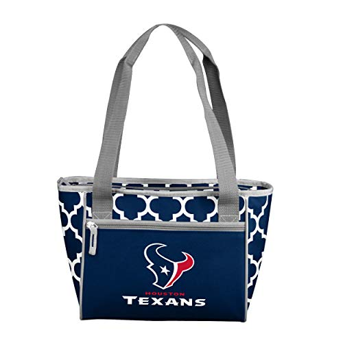 Logo Brands NFL Houston Texans 16 Cooler Can Tote, Navy, One Size