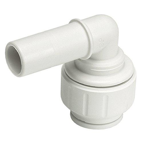 - JG Speedfit PEM221015W Stem Elbow, White, 10 x 15 mm, Set of 10 Pieces
