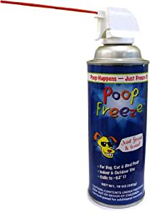 POOPFREEZE Aerosol Freeze Spray (10 oz)