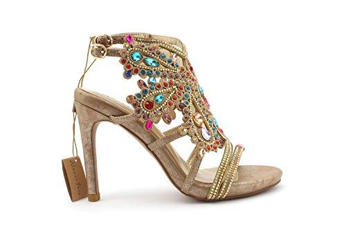 Sandalo Alma en Pena V17102 Bronzo - Size:39