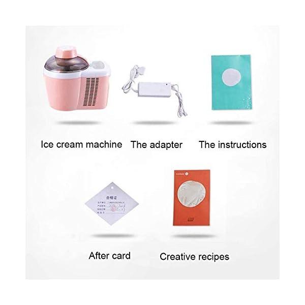 QIYUE Ice Cream Maker, Ice Maker MachineIce Maker macchina, in casa di qualità professionale Ice Cream - Ideale for… 4 spesavip