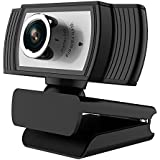 ANTZZON 1080P Full HD Webcam, Built-in Noise Reduction Microphone Stream Webcam for Video Conferencing, Online Work…