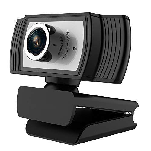 ANTZZON HD 1080P web cam: USB computer camera & webcam with microphone for desktop laptop streaming | video Conference…