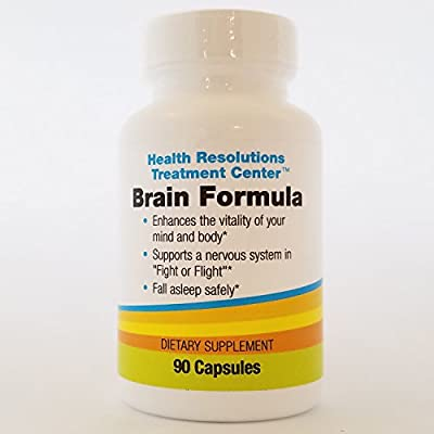 Brain Formula Dietary Supplements – Nutrition for a Busy Mind and Lifestyle (90 Capsules)