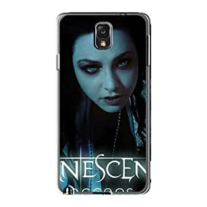 Samsung Galaxy Note3 OXi9153VGsR Customized Stylish Evanescence Band Pictures Bumper Phone Case -MarieFrancePitre