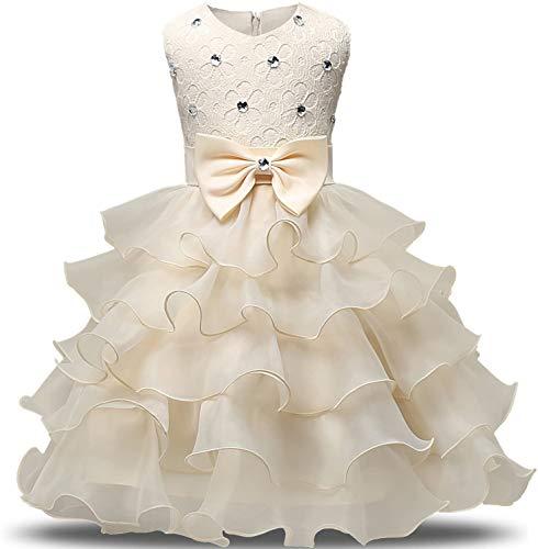 Jurk Meisjes Verjaardag Outfit Mouwloos Tutu Prinses Jurken Bruiloft Partij Bruidsmeisjes Gelaagde Tule Jurken