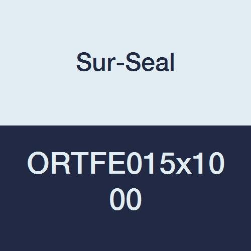 Pack of 50 Polytetrafluoro-Ethylene 3//4 ID 1 OD Outstanding Weather Resistance Pack of 50 Sur-Seal Sterling Seal ORTFE210x50 Number-210 Standard Teflon O-Ring 1 OD 3//4 ID