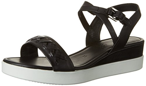 ECCO Women's Women's Touch Braided Plateau Wedge Sandal -...