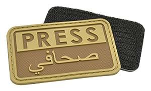 Hazard 4 3D Reporteros Prensa / Arabe Moral Patch Coyote