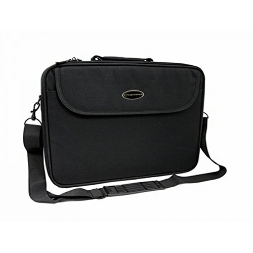 Funda , Negro 19 Bandolera, 48,3 cm Esperanza ET128 19 Bandolera Negro maletines para port/átil