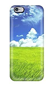 Durable Case For The Iphone 6 Plus- Eco-friendly Retail Packaging(grass Earth Nature Other)