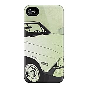 High-end Case Cover Protector For Iphone 6/6s(chevrolet Camaro (9))