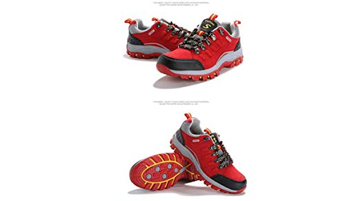 hiking women WENDYWU shoes hiking WENDYWU Red women 6vRnqt