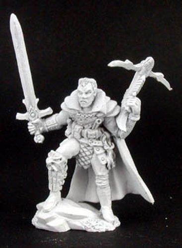 Reaper Miniatures Killian, Bounty Hunter #02962 Dark Heaven Unpainted Metal ()