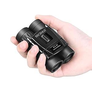 BRIGENIUS 8×21 Small Binoculars, Compact Binoculars for Adults Kids Bird Watching, Mini Pocket Lightweight Binoculars…