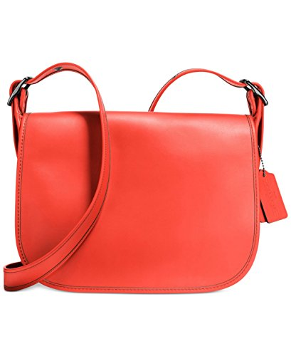 Coach Leather Flap Bag - 7