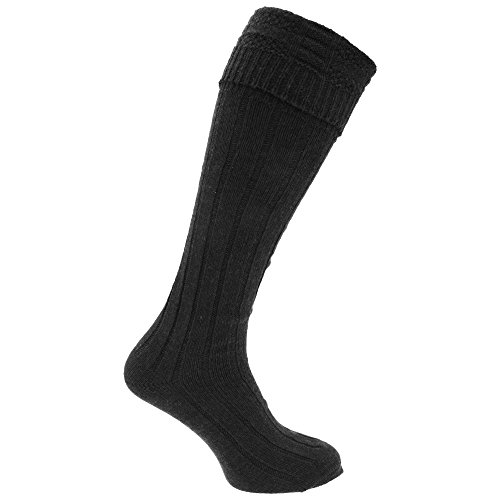 Mens Scottish Highland Wear Wool Kilt Hose Socks (1 Pair) (7-12 US) -