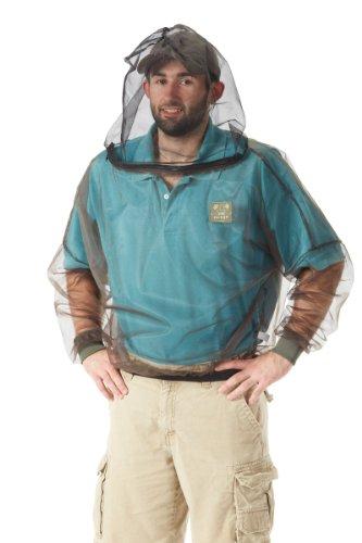 Clothing Mosquito Protective (Bug Baffler Insect Protective Mesh Shirt, Olive, Large/X-Large)
