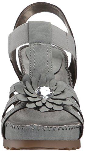 Aerosoles Cottontail Camoscio sintetico Sandalo con la Zeppa