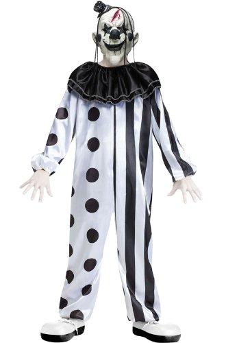 Boys Killer Clown Costume - L
