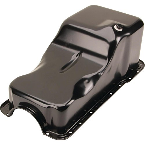 221-260-289-302 Oil Pan, Front Sump, Black, Fits Ford 1962-1982 Small Block