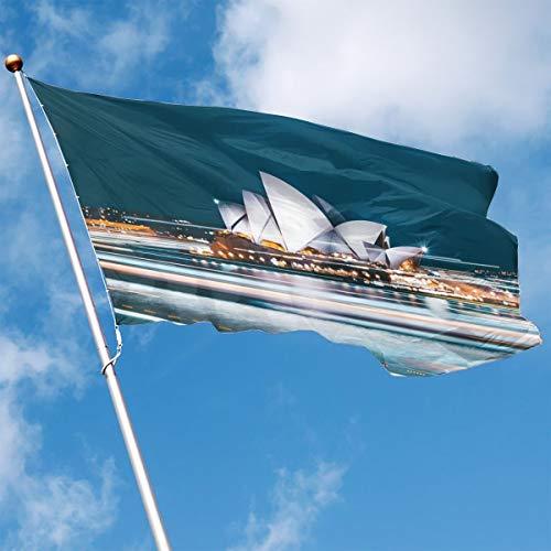 Garden Flag Australian City Sydney Outdoor Yard Flag Wall Lawn Banner Home Flag Decoration 3' X 5' -