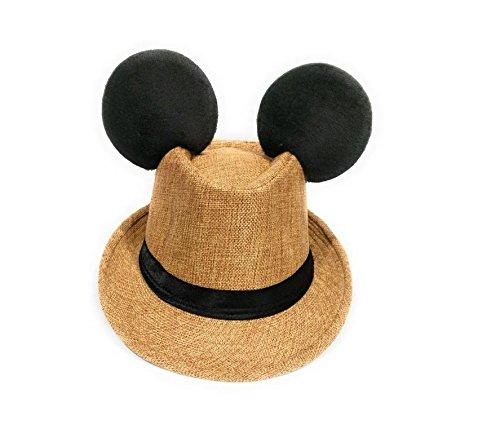 Disney Inspired Dapper Hat for Men Tan by Greatlildeal (Image #2)