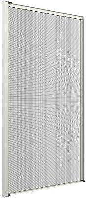 Mosquitera Lateral a Medida de 50 mm con guía Recortable para Puertas y Ventanas, Cierre magnético, Personalizable con 6 Tipos de Red, 13 Colores de Aluminio, Fabricado en Italia: Amazon.es: Hogar