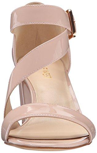 Nine West Dress Sandal Patent Talen Light Womens Natural rrZwdHaqp