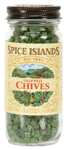 Spice Islands Chives, Snipped Freeze Dried, .1-Ounce (Pack of 3)
