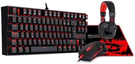 K552-bb Esportsゲームバックライトメカニカルゲーミングキーボード、ゲーミングマウス、ゲーミングマウスパッド、ゲーミングヘッドセットコンボセ