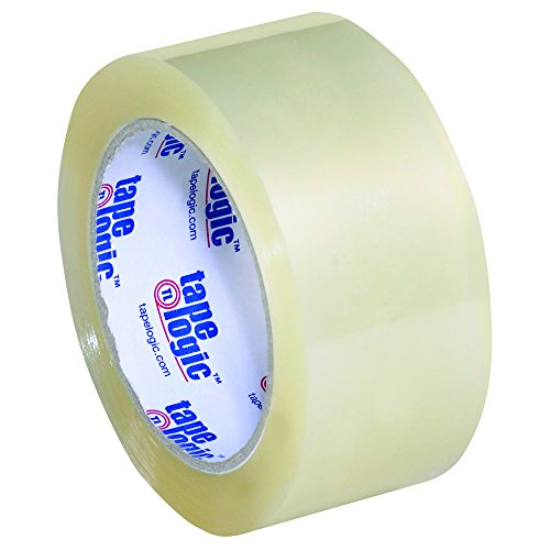 Tape Logic TLT901350 Acrylic Tape, 3.5 mil, 2'' x 55 yd, Clear (Pack of 36) by Tape Logic
