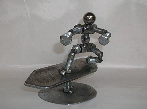 (Surfer Metal Bolt Figurine)