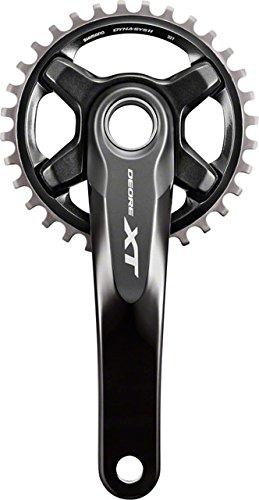 Shimano Deore XT FC-M8000-B1 - Juego de manivela para Bicicleta de montaña (11 velocidades)