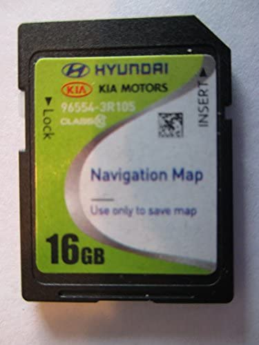 3R105 2014 2016 KIA CADENZA Navigation MAP Sd Card ,GPS UPDATE , U.S.A OEM PART 96554-3R105 16GB 4.X USA OEM PART