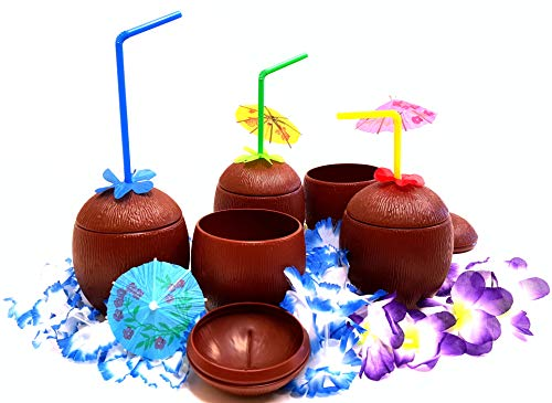 (Coconut Cups, Tiki Bar Coconut Cups, by Dondor)