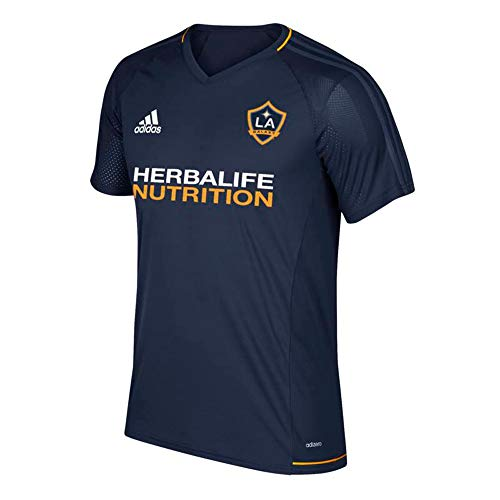 Adidas Men's LA Galaxy 2017 Navy Training Jersey, Medium