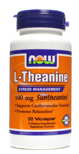 NOW Foods L theanine 100mg Bottles