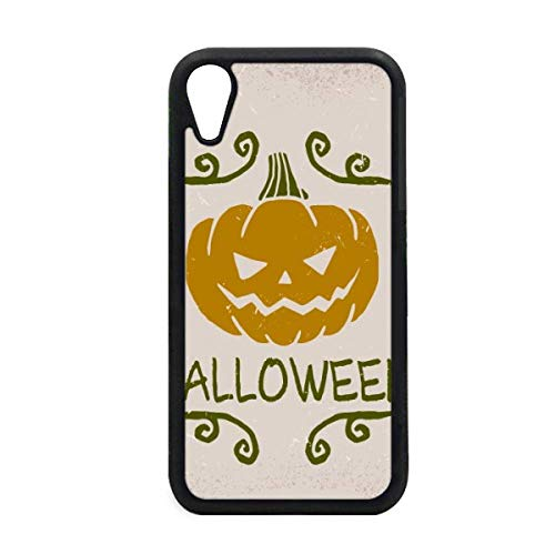 Halloween Pumpkin Cartoon Pattern iPhone XR iPhonecase Cover Apple Phone Case -