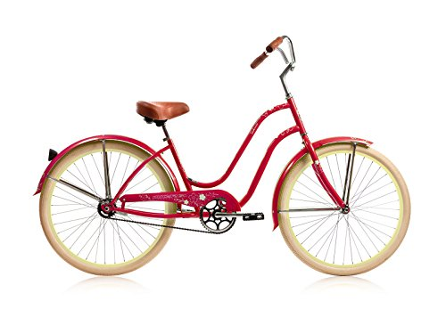 Micargi Bicycle Industries Sakura Single Speed Ride On, Red