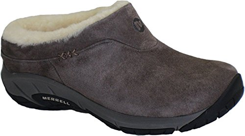 Merrell Womens Encore Ice Slip-On Clog, Stone, 8 B(M) US