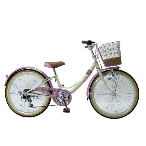 【組立整備済】 ショコラキュート 22型 外装6段変速 ピンク 49 885×1550×550 B06X92W9B4