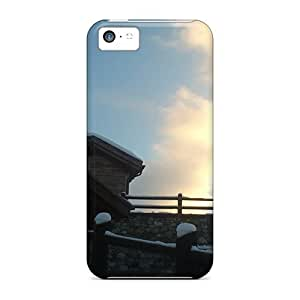 Anti-scratch And Shatterproof Good Created Image Phone Case For Iphone 5c/ High Quality Tpu Case